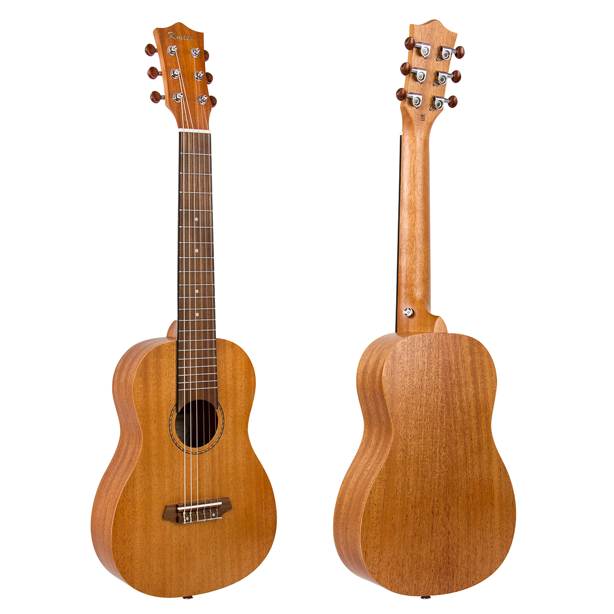Kmise Guitalele Mini Travel Guitar Ukulele 31 in...