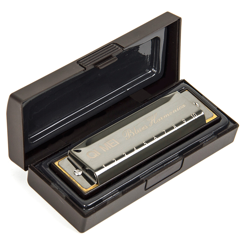 Kmise Blues Harmonica French Harp Mouth Organ Ph...