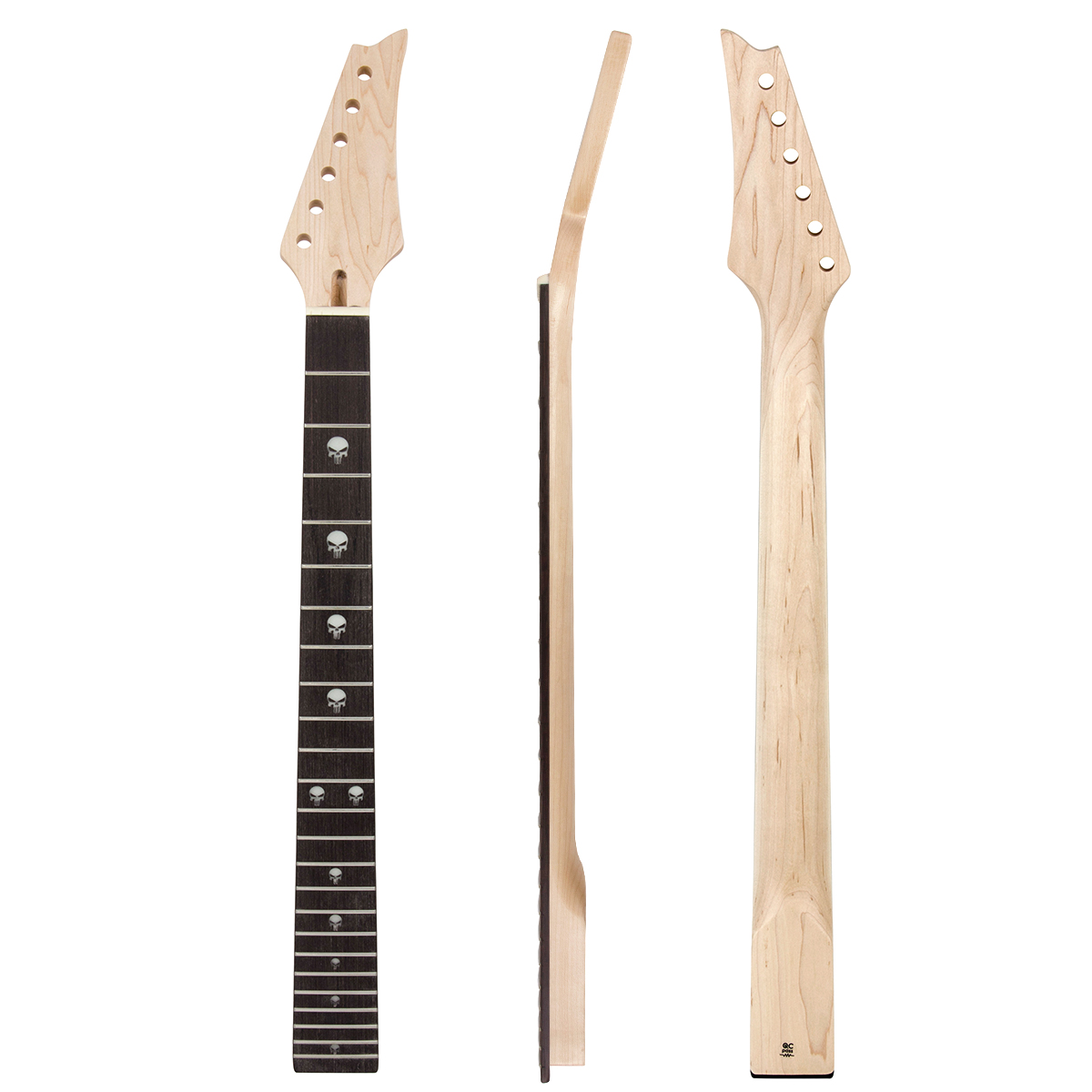 Kmise Electric Guitar Neck Canada Maple 24 Large Frets Bolt On